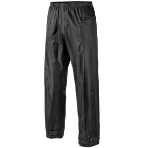 MFH Rain Pants Black