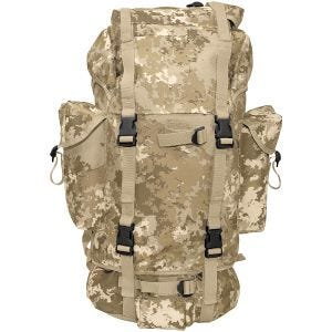 MFH German Army Rucksack 65L Vegetato Desert
