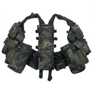 MFH South African Assault Vest Czech Woodland