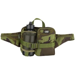 MFH Waist Bag with Bottle Czech Woodland