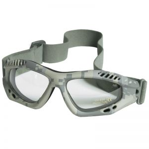 Mil-Tec Commando Goggles Air Pro Clear Lens ACU Digital Frame