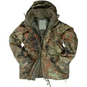 00eaeb5c09be4 Quick View Mil-Tec ECWCS Jacket with Fleece Flecktarn