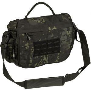 Mil-Tec Tactical Paracord Bag Large Multitarn Black