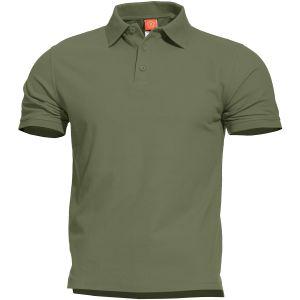 Pentagon Aniketos Polo T-Shirt Camo Green