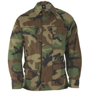 Propper Uniform BDU Coat Polycotton Ripstop Woodland