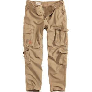 Surplus Airborne Slimmy Trousers Beige Washed