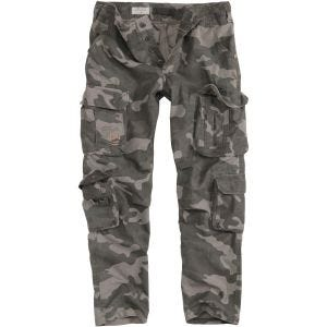 Surplus Airborne Slimmy Trousers Black Camo