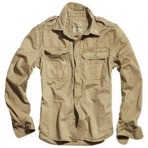 Surplus Raw Vintage Long Sleeve Shirt Beige