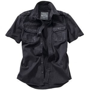 Surplus Raw Vintage Short Sleeve Shirt Black