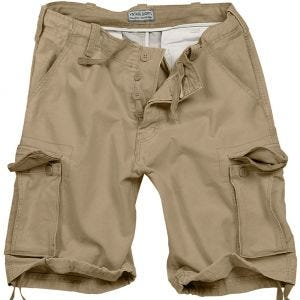 Surplus Vintage Shorts Washed Beige