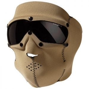 Swiss Eye SWAT Mask Pro with Ballistic Goggles Coyote