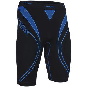Tervel Optiline Running Shorts Black / Blue