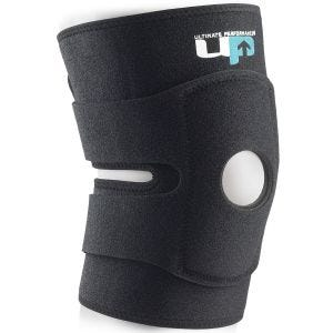 Ultimate Performance Ultimate Knee Support with Straps Black