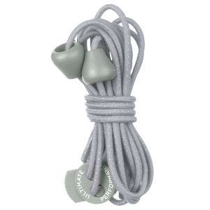 Ultimate Performance Reflective Elastic Laces Silver Gray