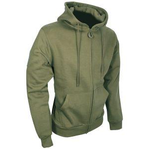 Viper Tactical Hoodie Zipped Green