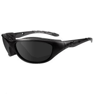 Wiley X Airrage Black Ops Glasses - Smoke Gray Lens / Matte Black Frame