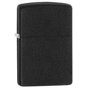 Zippo Matte Black Regular Lighter