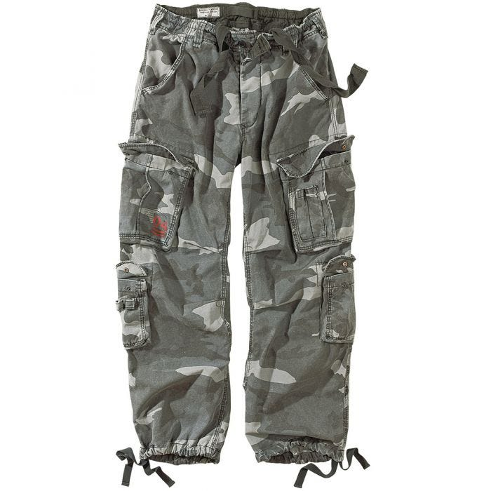Surplus Airborne Vintage Trousers Night Camo
