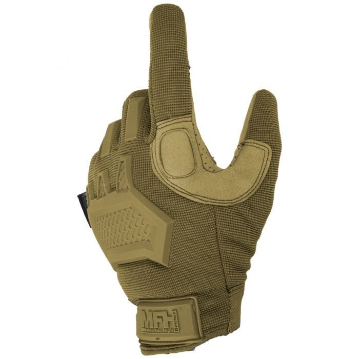 MFH Action Tactical Gloves Coyote Tan
