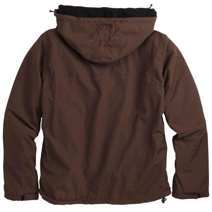 Surplus Windbreaker Jacket Brown