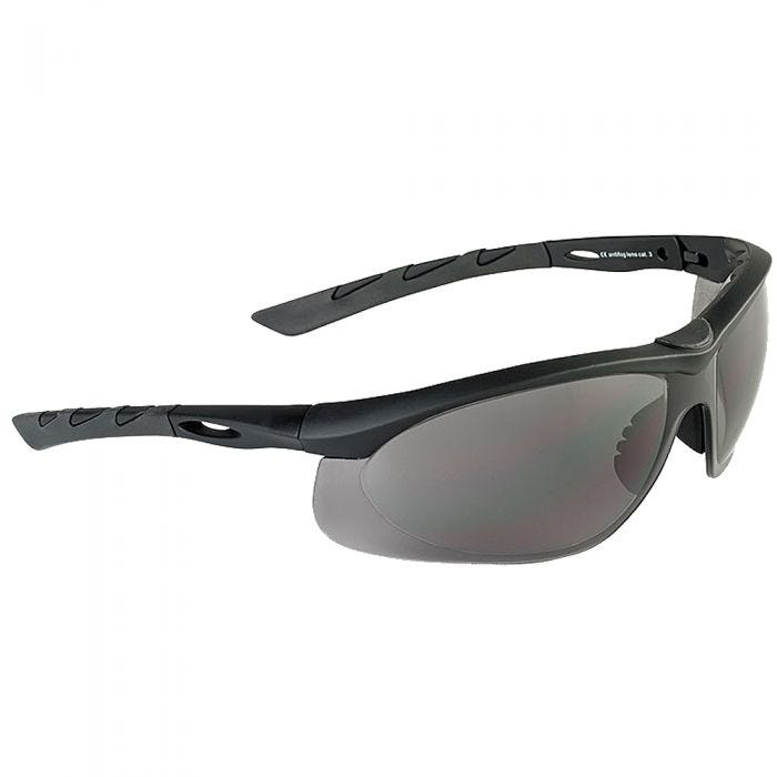 Swiss Eye Lancer Sunglasses - Smoke Lens / Black Rubber Frame