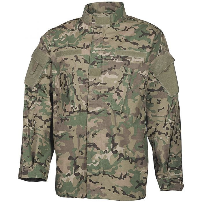 MFH ACU Ripstop Field Jacket Operation Camo