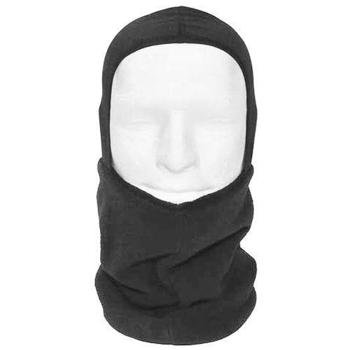 MFH Scarf Fleece with Head Section Black