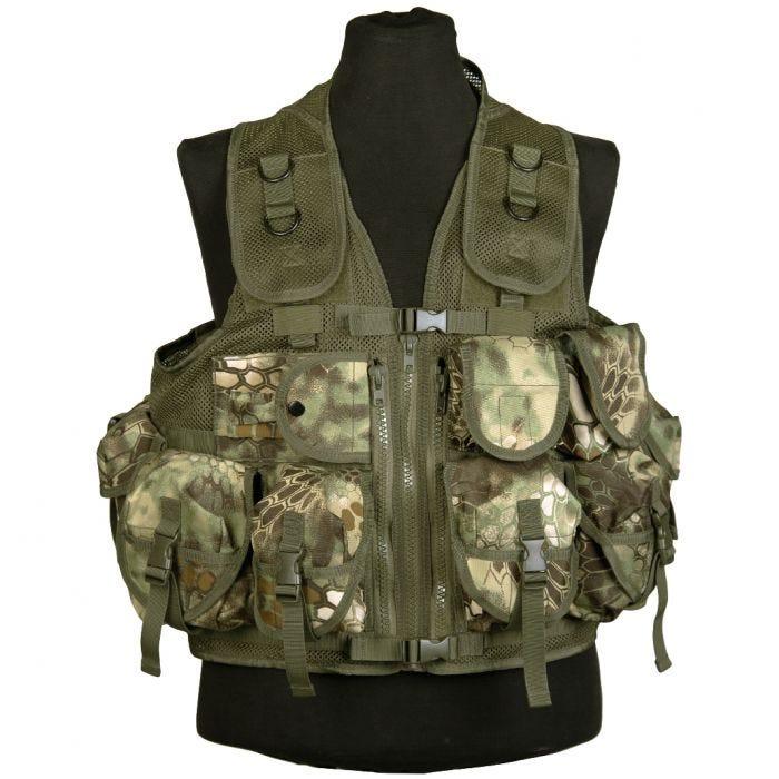 Mil-Tec Ultimate Assault Vest Mandra Wood