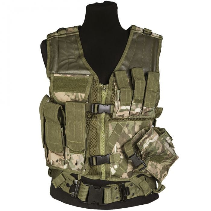 Mil-Tec USMC Tactical Vest Multitarn