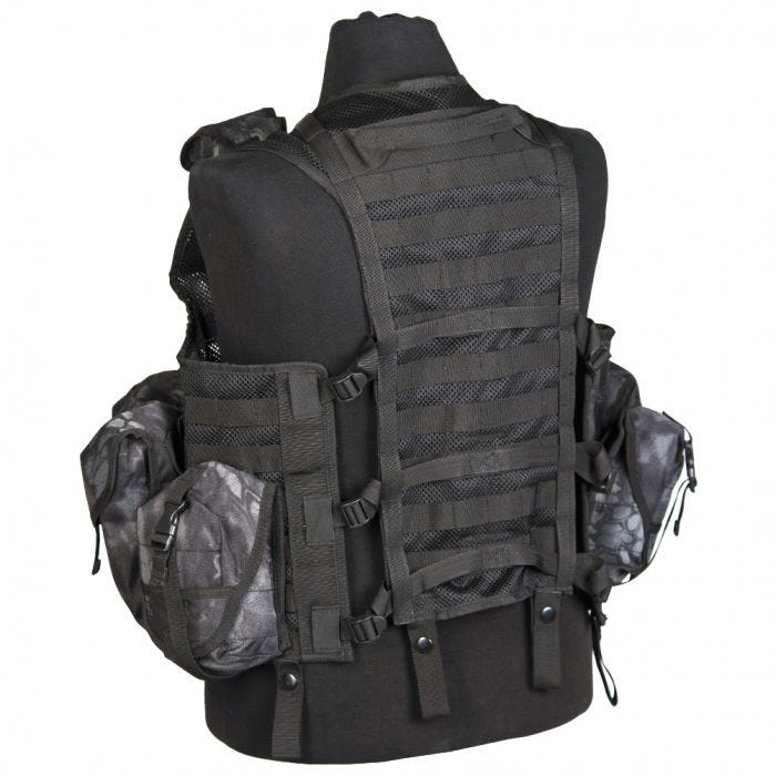 Mil-Tec Tactical Vest Modular System Mandra Night