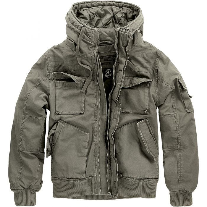 Brandit Bronx Jacket Olive