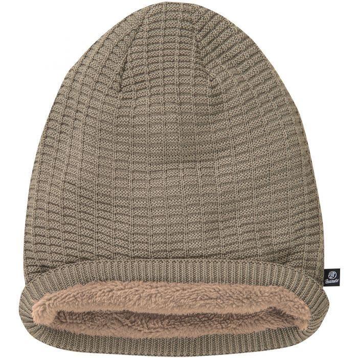 Brandit Beanie John Ajour Knitted Taupe