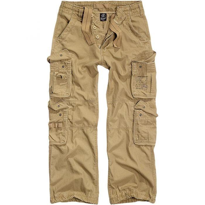 Brandit Pure Vintage Trousers Beige