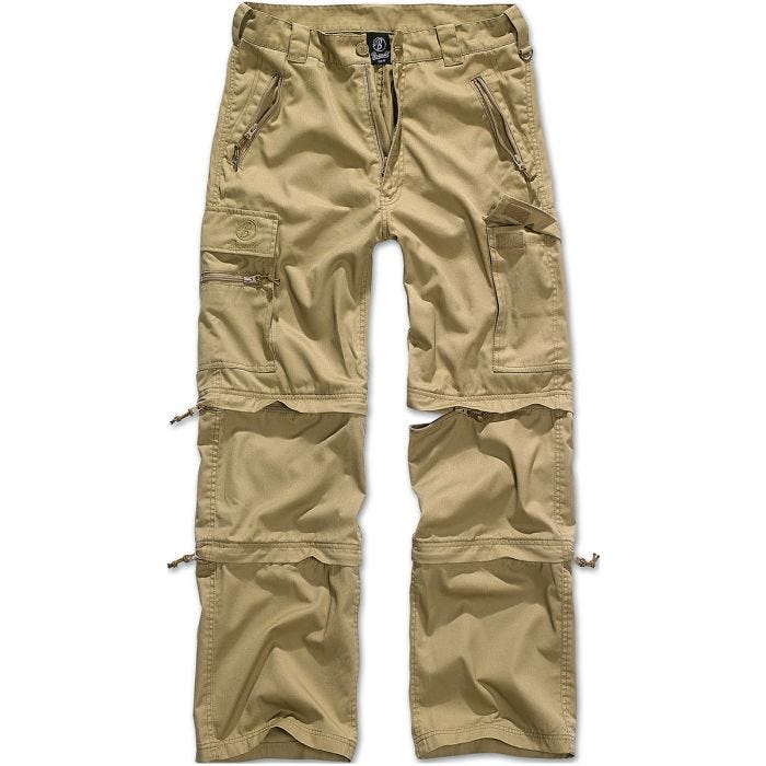 Brandit Savannah Trousers Camel