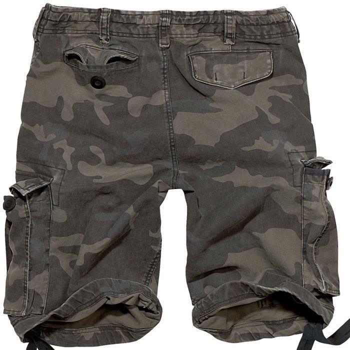 Brandit Vintage Classic Shorts Dark Camo