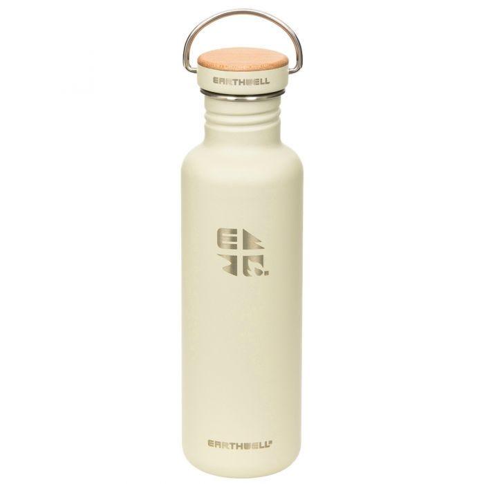 Earthwell Woodie Single Wall Bottle 800ml Maple / Baja Sand