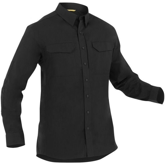 First Tactical Men's Specialist Long Sleeve Tactical Shirt Black