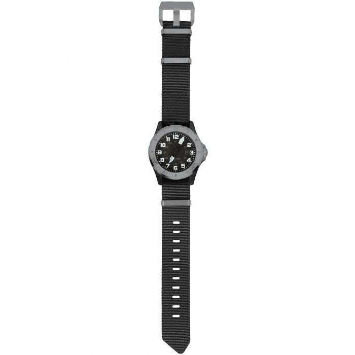 First Tactical Ridgeline Carbon Field Watch Brushed Stainless / Black