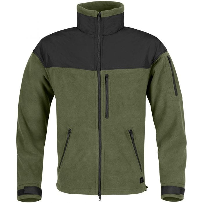 Helikon Classic Army Fleece Olive Green/Black