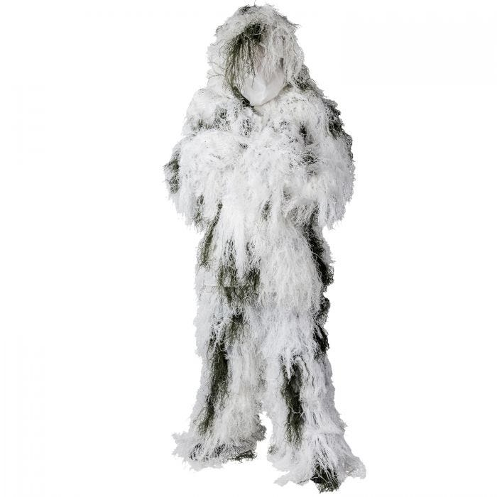 Helikon Camouflage Ghillie Suit Snow Camo