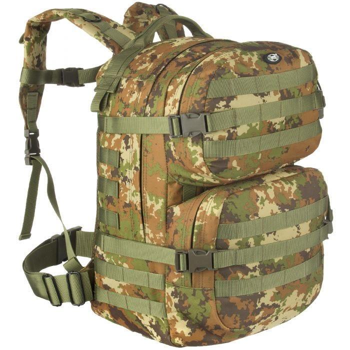 MFH Backpack Assault II Vegetato Woodland