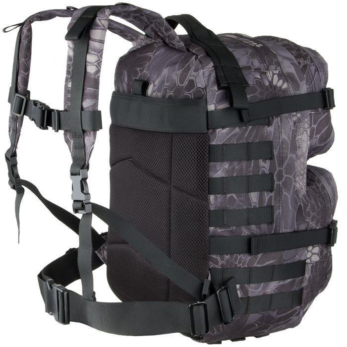 MFH Backpack Assault II Snake Black