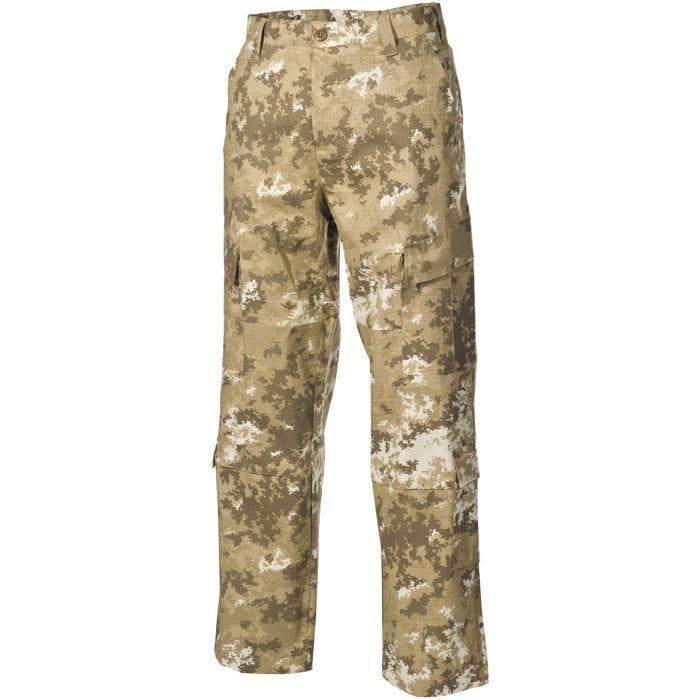 MFH ACU Combat Trousers Ripstop Vegetato Desert