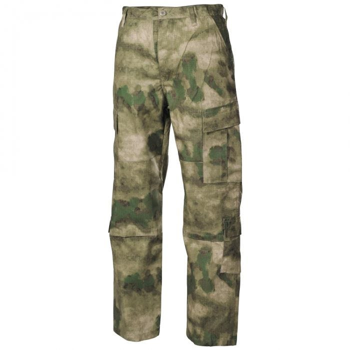 MFH ACU Combat Trousers Ripstop HDT Camo FG