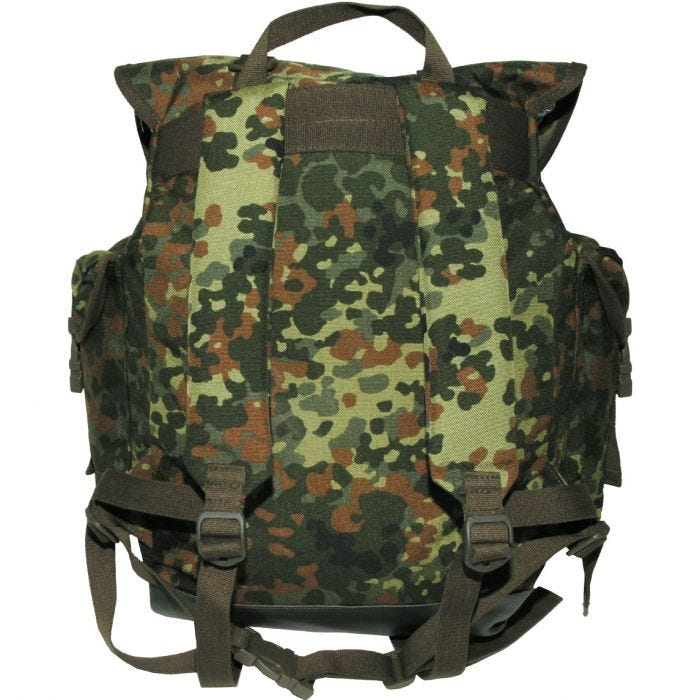 MFH German Army Mountain Rucksack Cordura Flecktarn