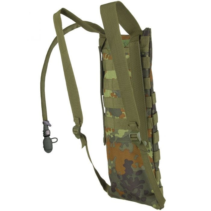MFH Hydration Bladder and Carrier MOLLE Flecktarn