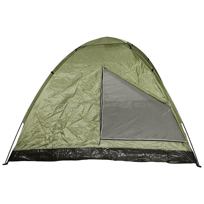 MFH 3 Person Tent Monodom with Mosquito Net OD Green