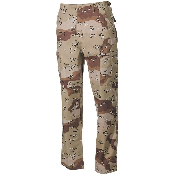 MFH BDU Combat Trousers Ripstop 6-Color Desert
