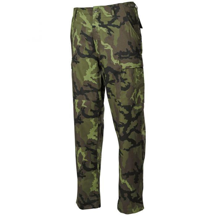 MFH BDU Combat Trousers Ripstop Czech Woodland