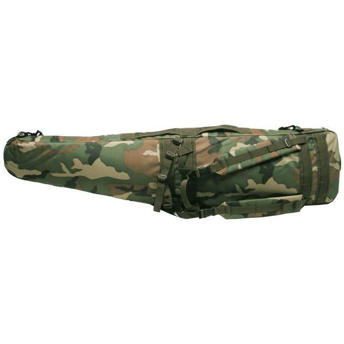 MFH Sniper Case / Rifle Bag Woodland Camo